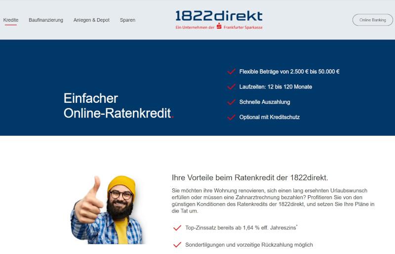 1822direkt Kredit Sparkasse