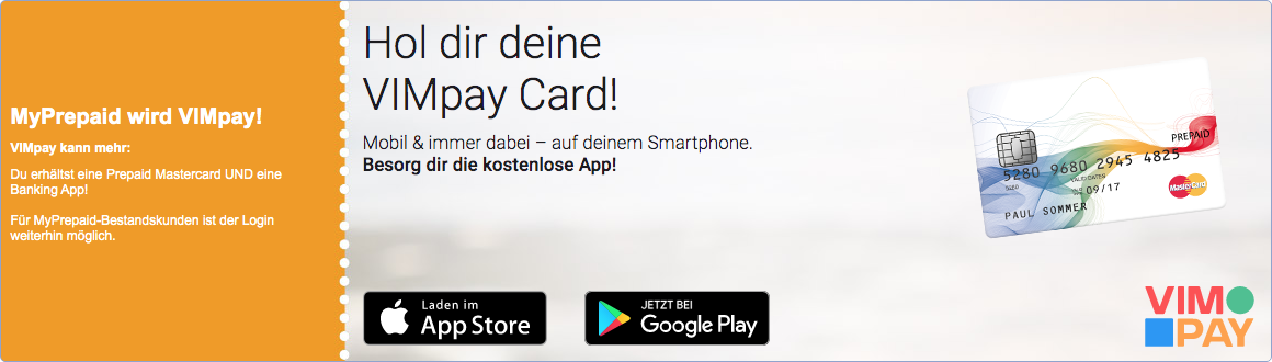 MyPrepaid Kreditkarte