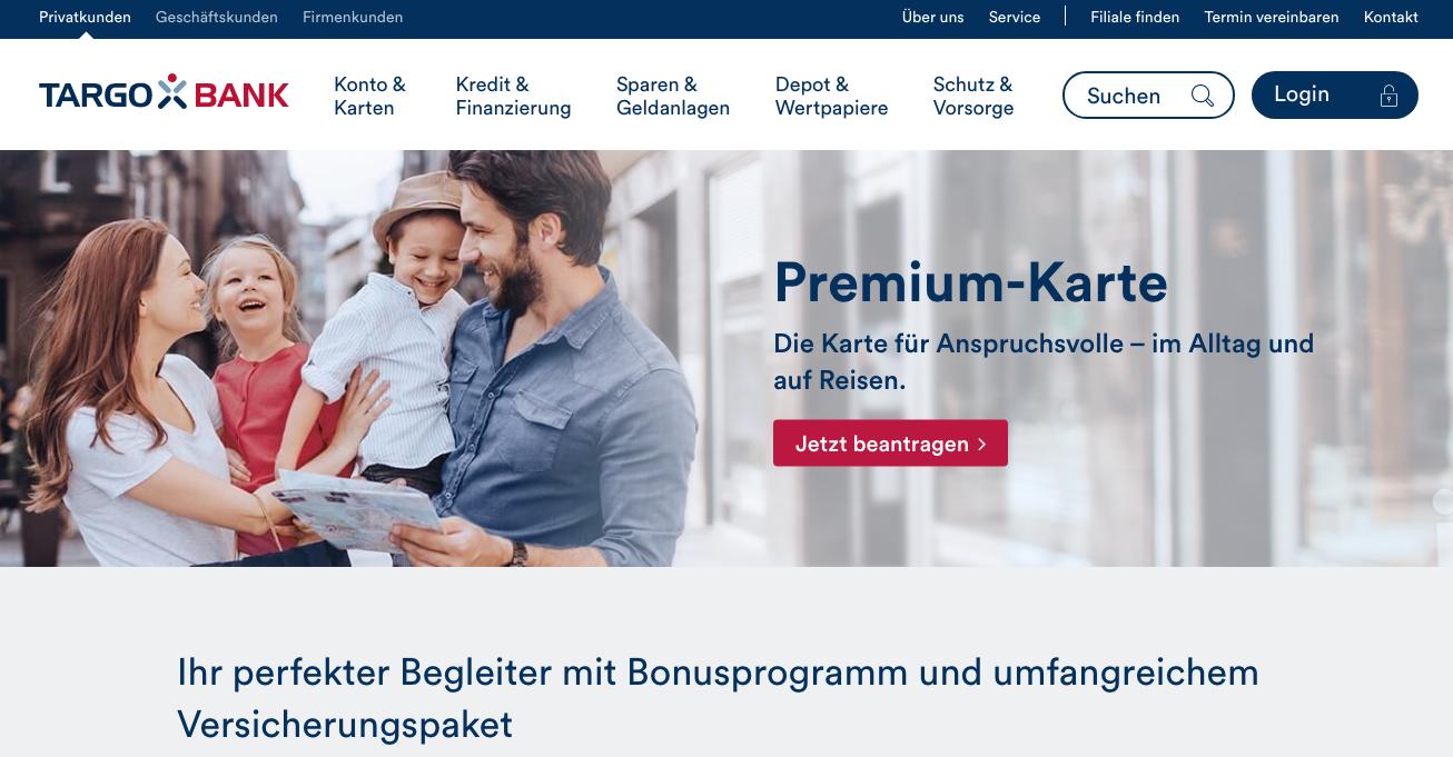 Targobank-Premium-Karte