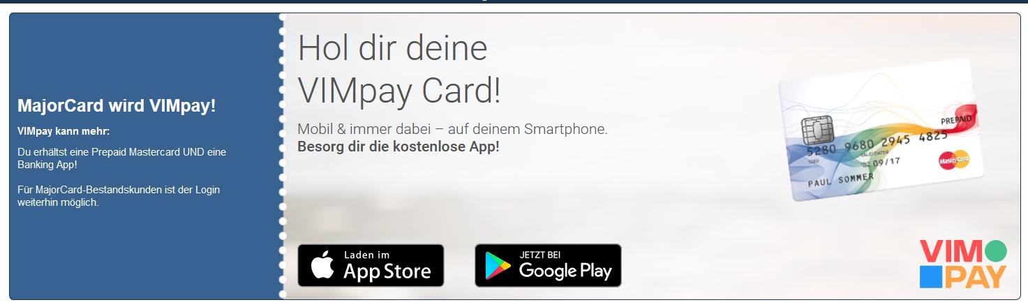VIMpay Kreditkarte