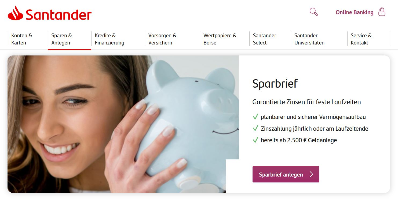 Santander Festgeld
