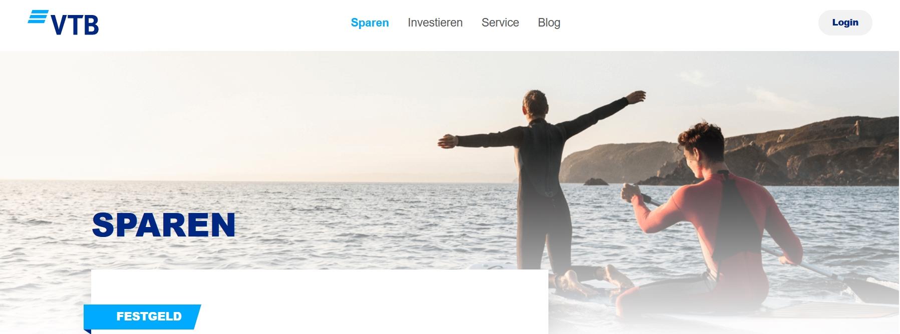 VTB Direktbank Festgeldkonto